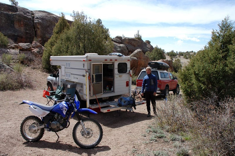 Dirt Bike Trails Camping