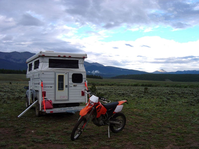 Mountain Boondocking Relaxing