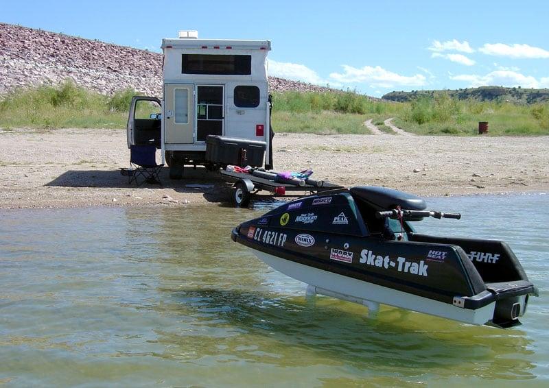 Skat Trak Jet Ski Camping