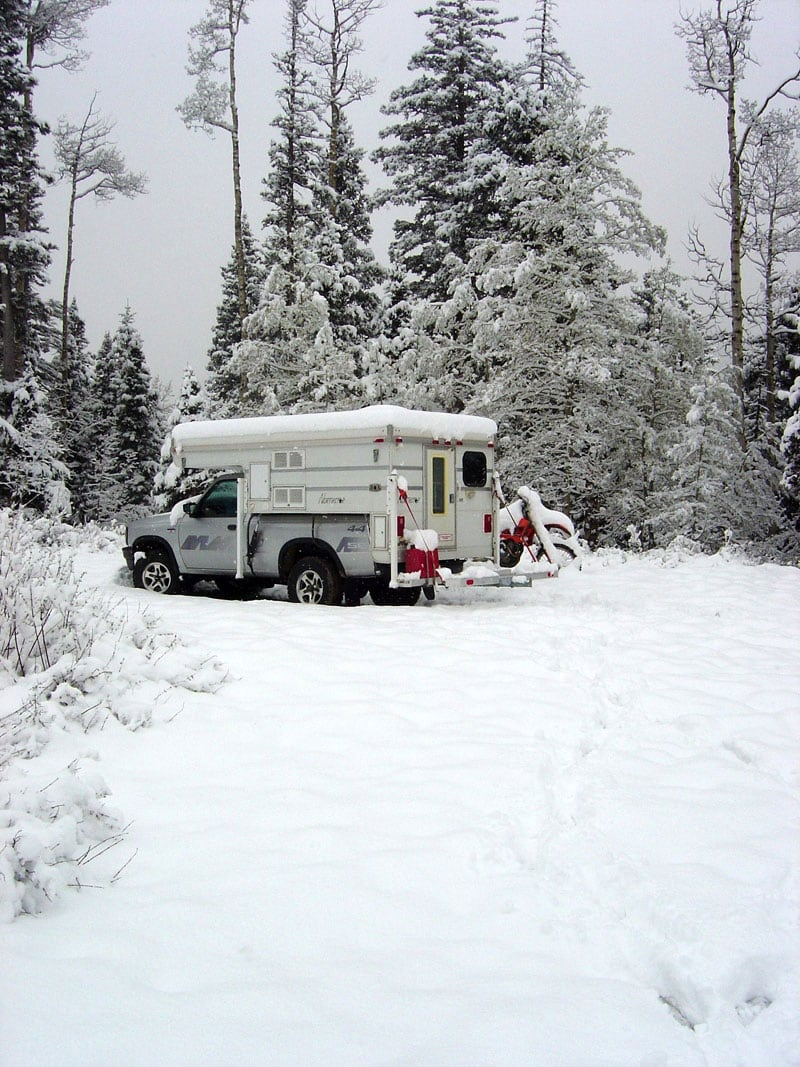 Stranded In The Snow While Camping