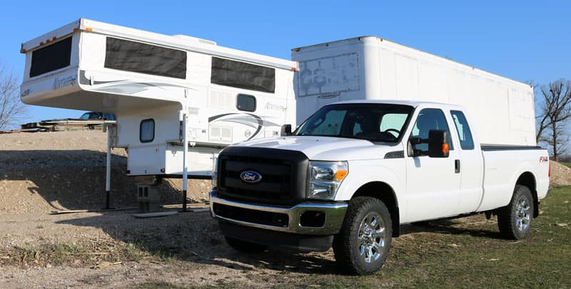 2012 Ford F 250 Super Duty and pop up camper