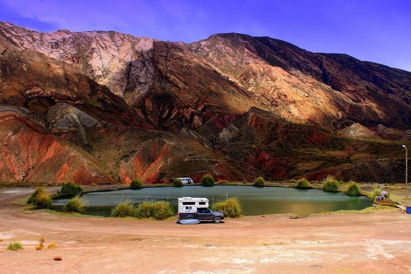 Camped Out At Inca Del Oro Bolivia