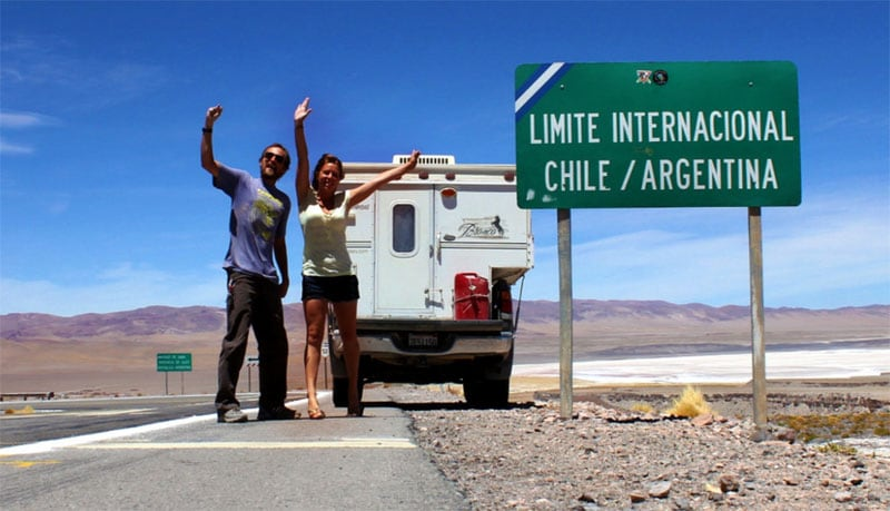 Chile and Argentina Border Last Country