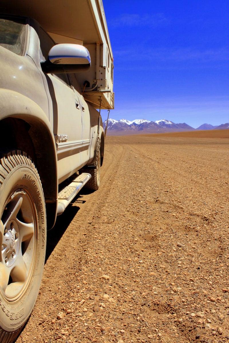 Dirt Road In Bolivia