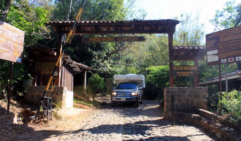 Parque National El Imposible El Salvador