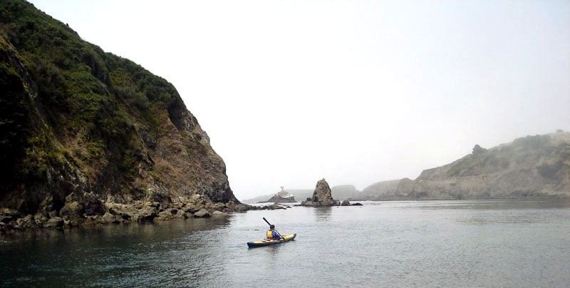 Kayak Heaven in Albion, California