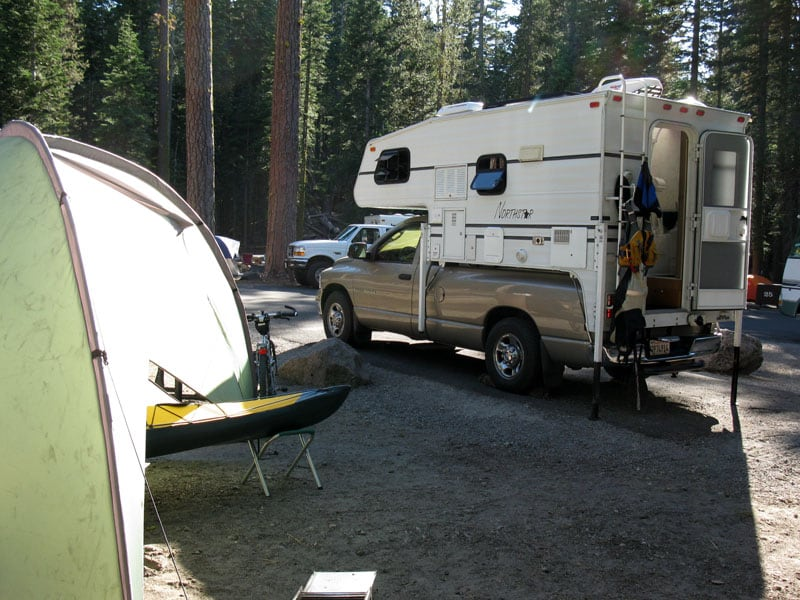Lassen National Park Camping California