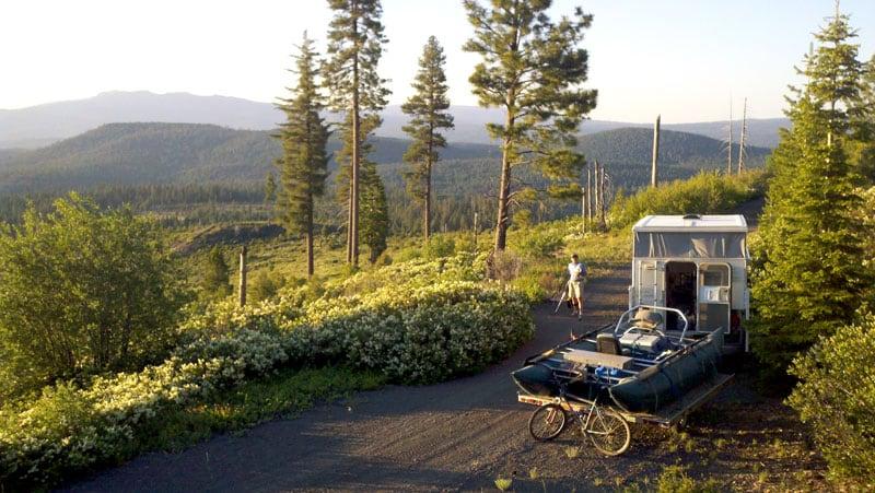 Nat Forest Land In SE Oregon
