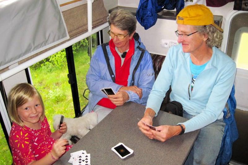 Go Fish Game In Camper