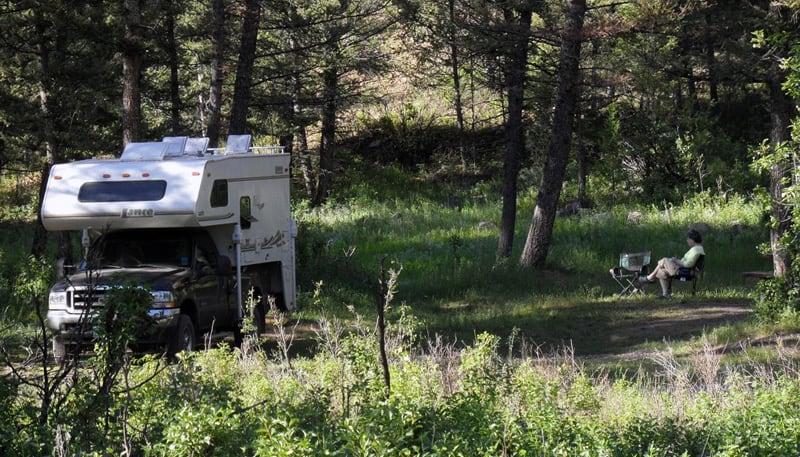 Bowman Camping Montana
