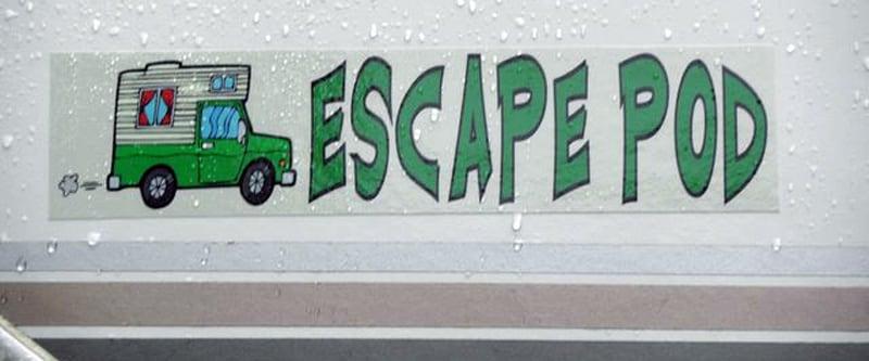 Escape Pod Bumper Sticker