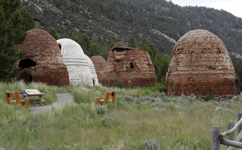 Kilns At End Of Gummy Bear Road