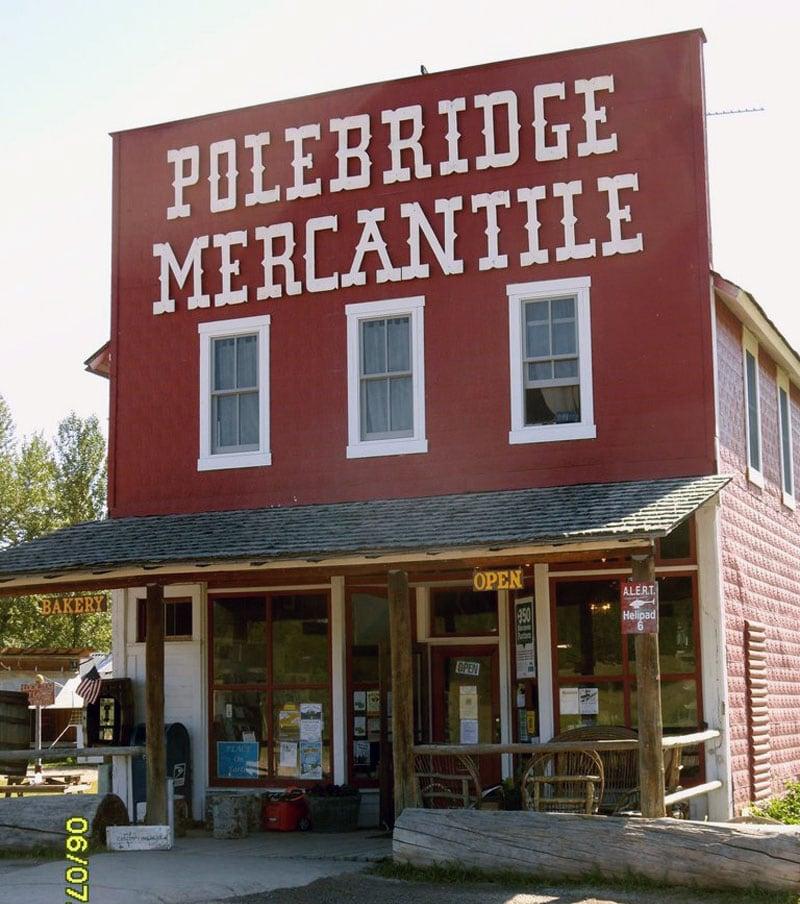 Polebridge Mercantile Near Glacier