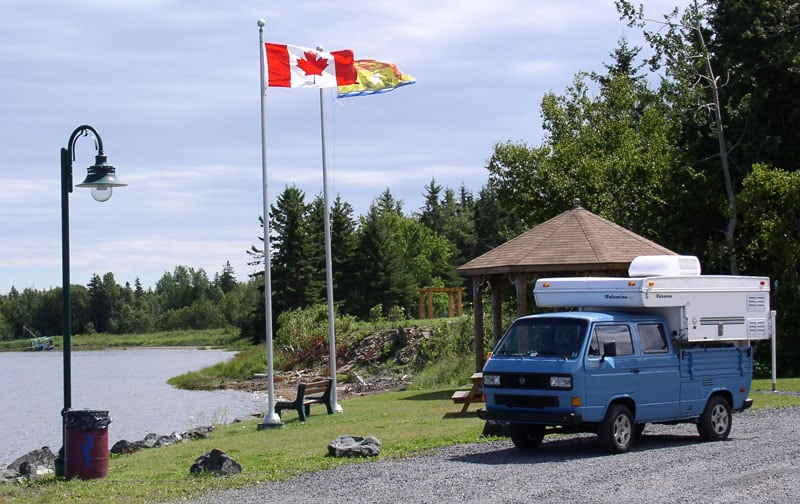 VW Truck Canada Camping