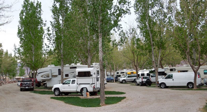 Alaskan Camper Out Of Place RV Park