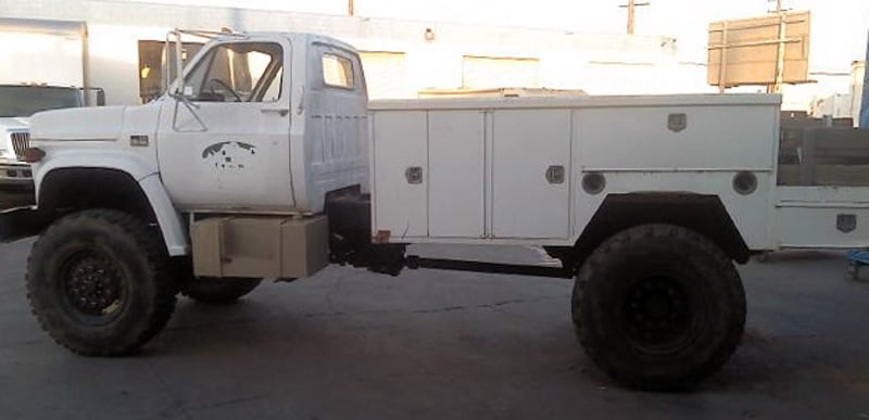 Bug Out Truck With Storage
