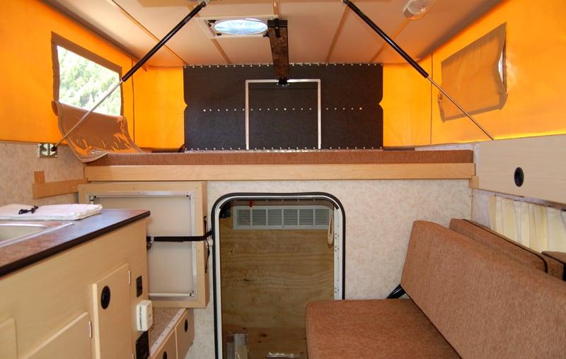 Survivor Camper Interior