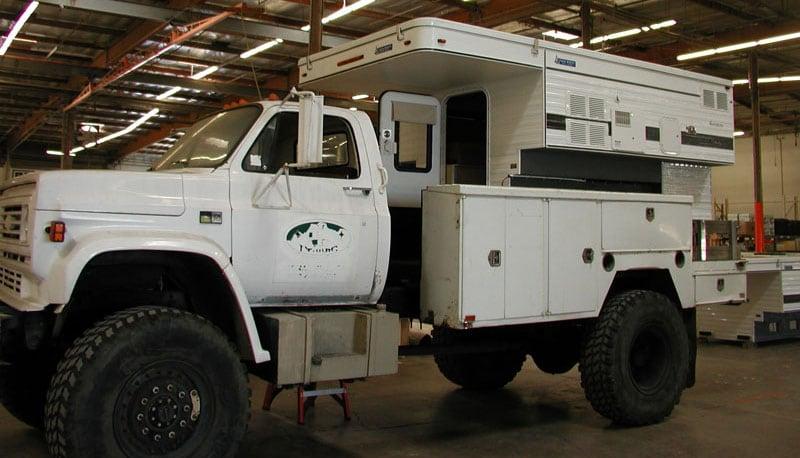 Survivor Truck Assembled At Factory