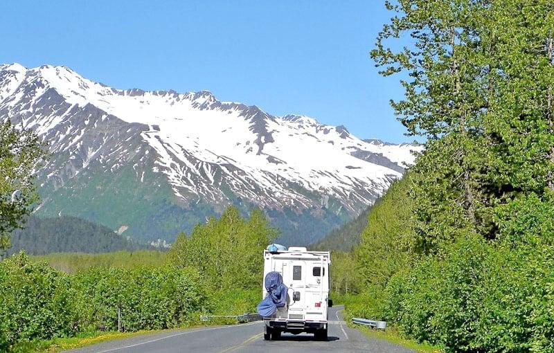 Driving Through Alaska USA