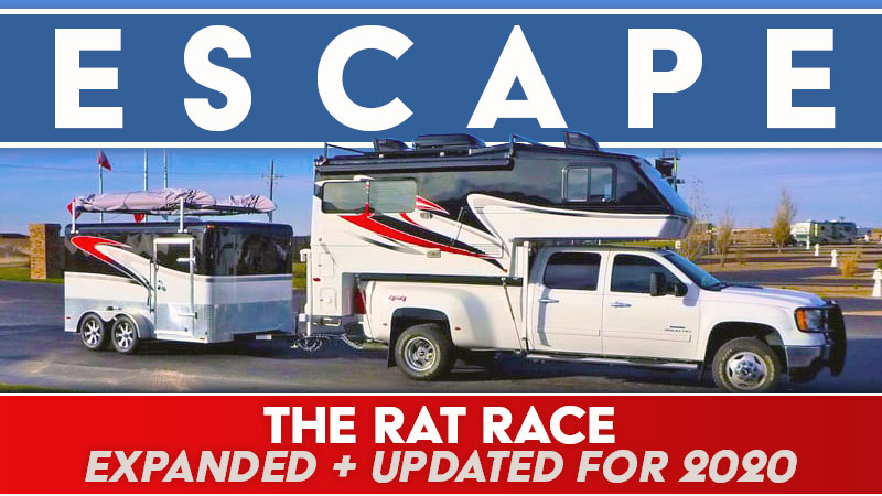 Escaping the rat race with a truck camper