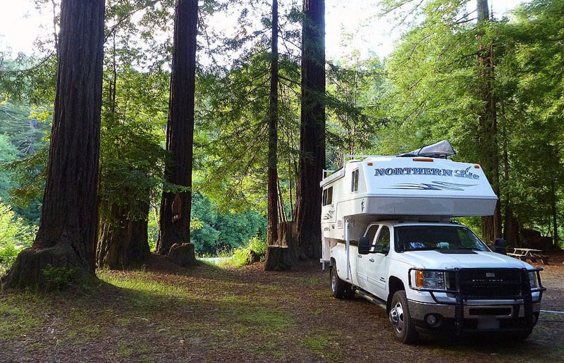Gualala California Camping