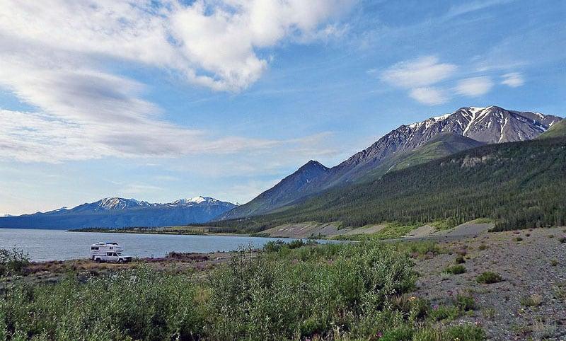 Kluane Lake AK Camping