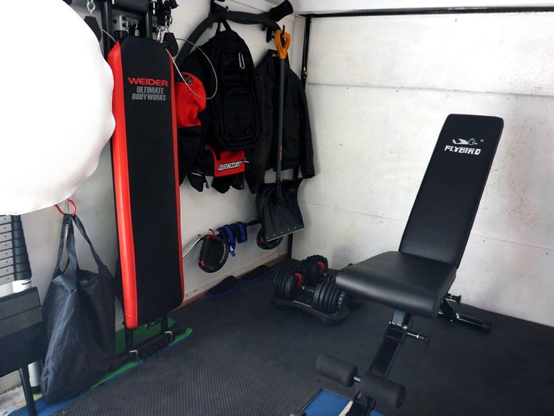 Trailer Gym Garage For Campers