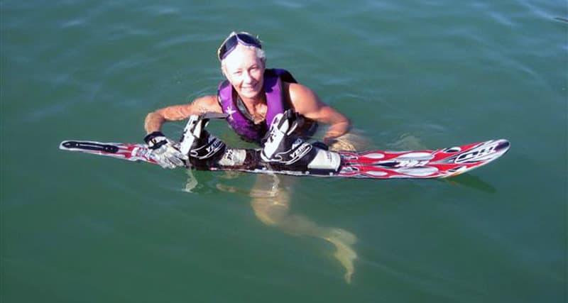 Trinity Lake to water ski