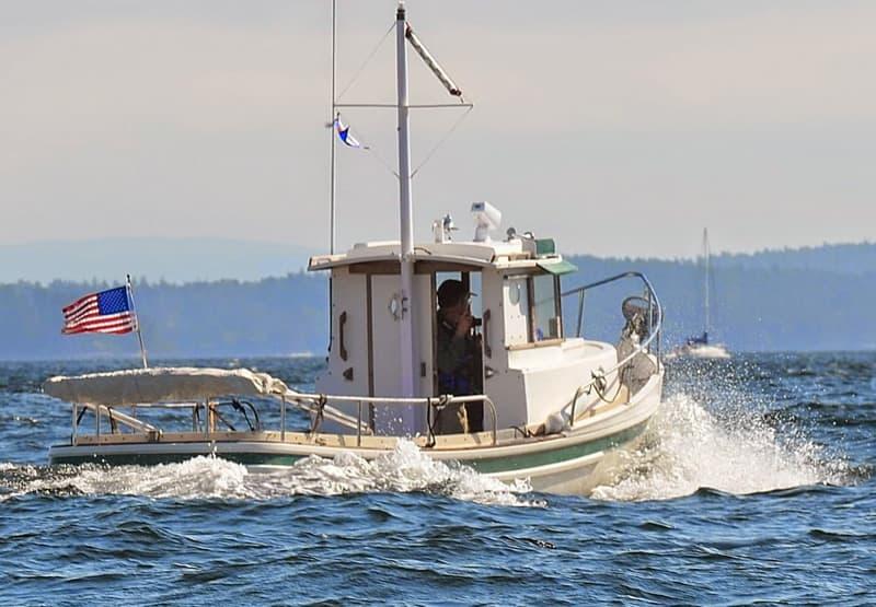 Mudhen Tugboat, San Juan Islands, Washington