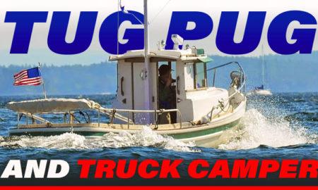 Tug Pug and Truck Camper