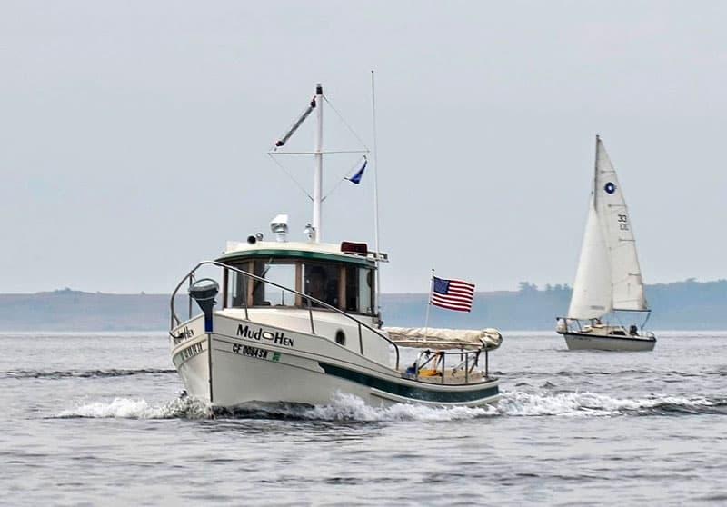 Tugboat Four Wheel Camper Mud Hen Sailboats
