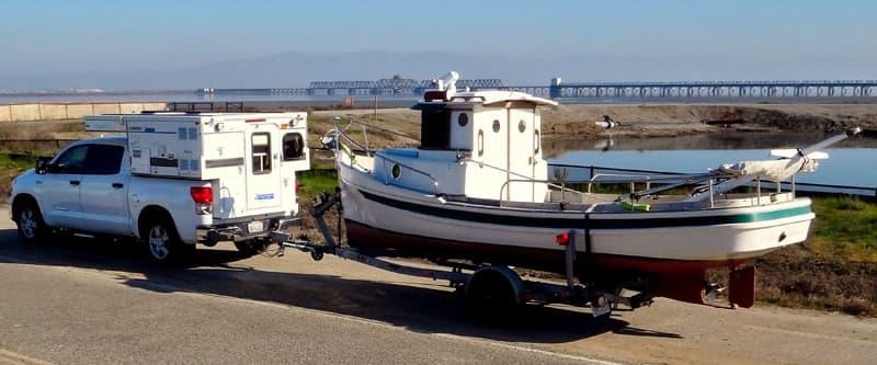 Tugboat Four Wheel Camper Rest Area