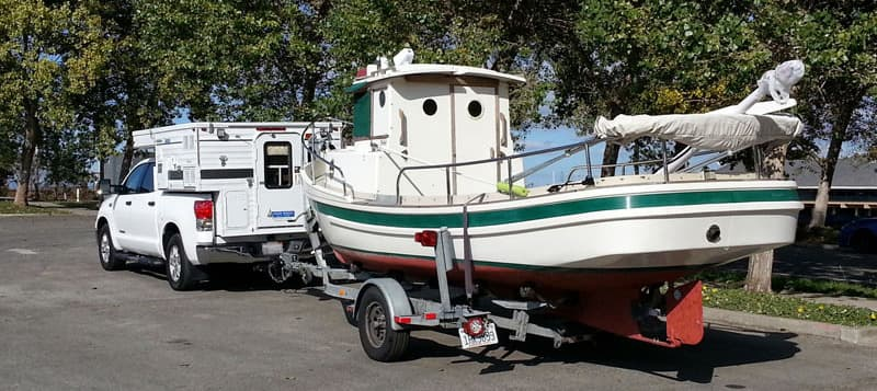 Tugboat Four Wheel Camper Towing 1