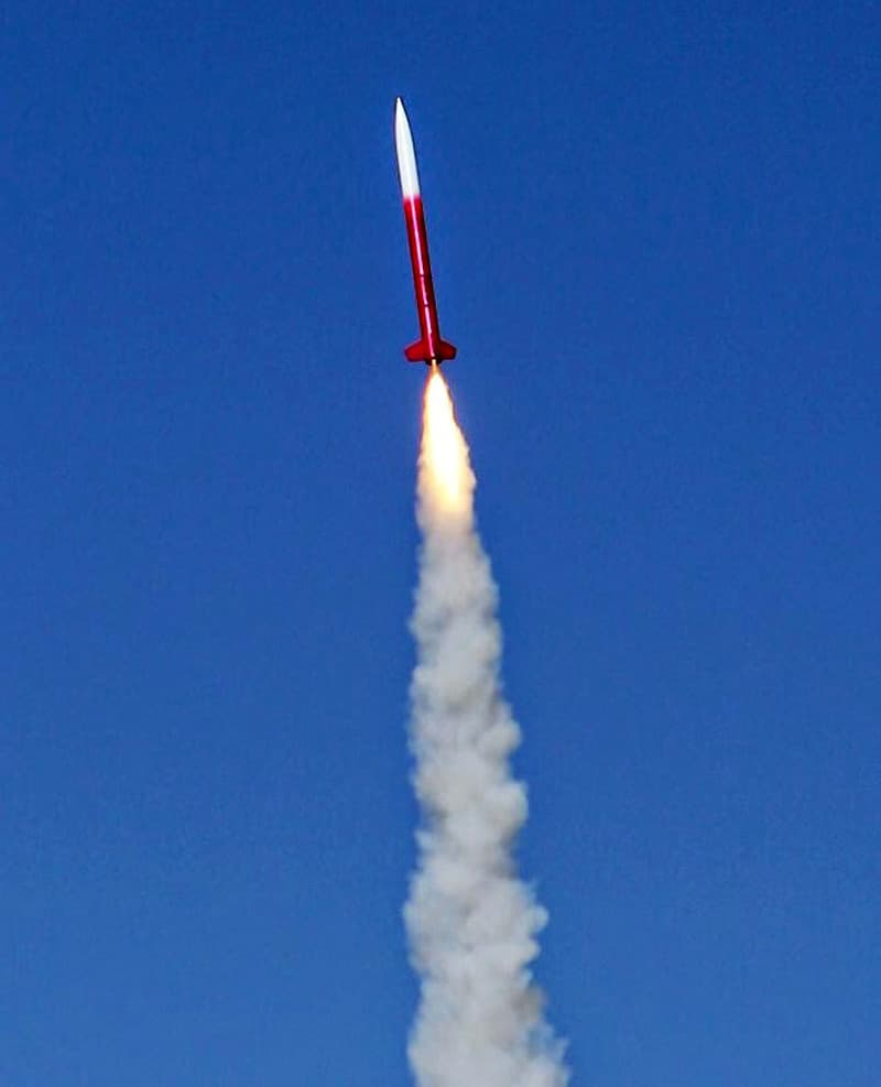 Rocket Launcher ExcelPlus J350 Into Space