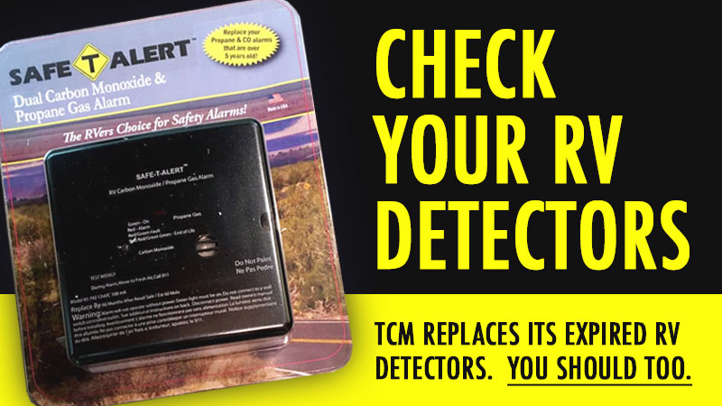 Replace RV CO and LP Detectors