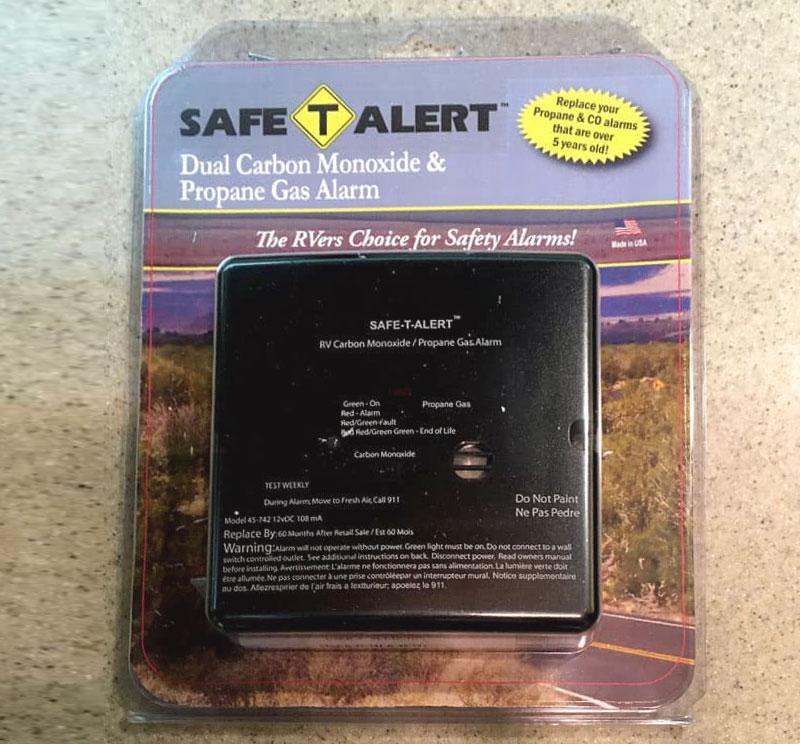 Safe T Alert Dual LP CO Detector