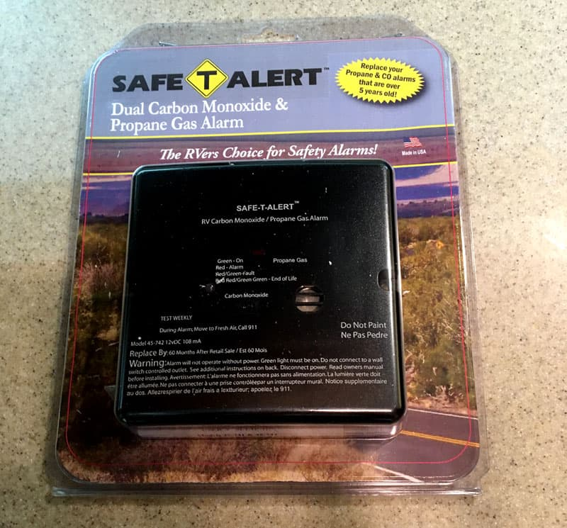 Safe T Alert Dual CO And Propane Alarm