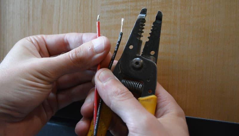 Wire Stripper To Prepare Wires