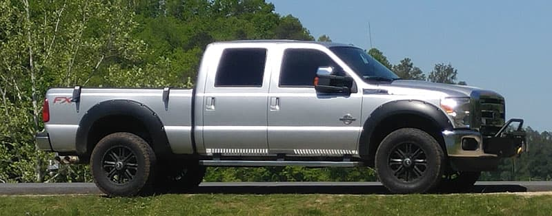 2016 Ford F350 Short Bed