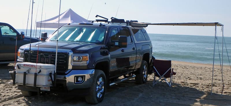 2016 GMC 3500HD SRW On The Beach