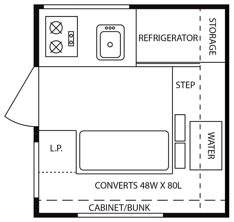 Northstar Vista Floorplan for the Review