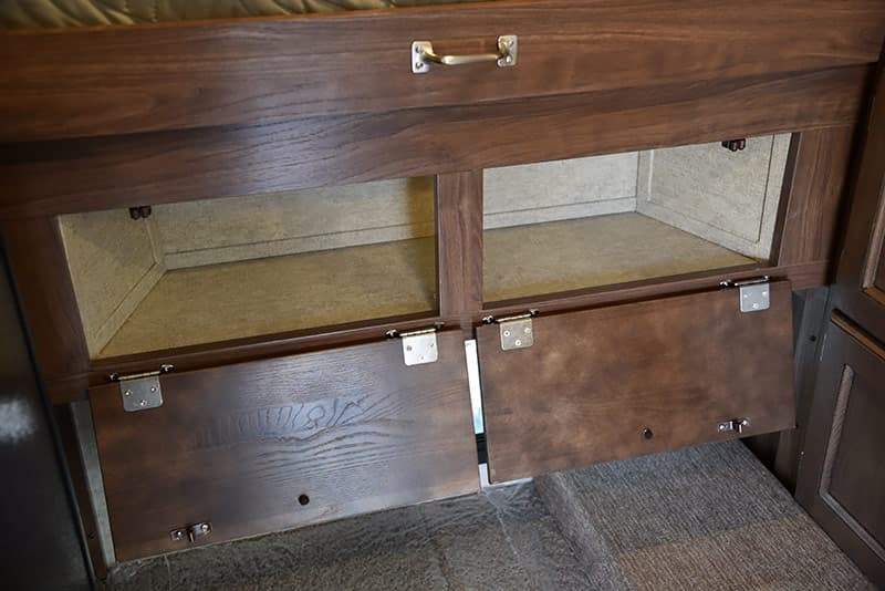 Palomino front cabinet storage