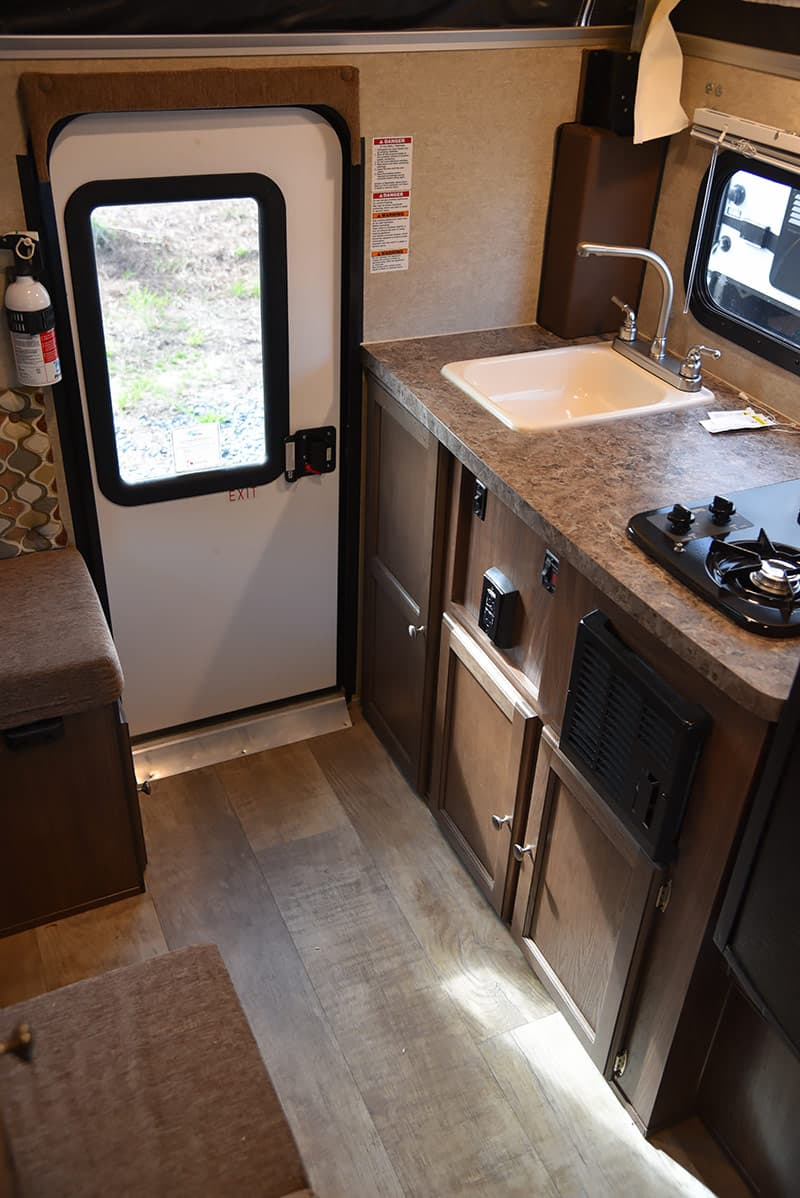 Palomino 550 rear kitchen