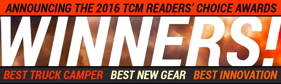 2016 Truck Camper Magazine Readers Choice Winners