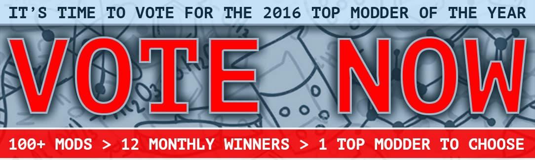 2016 Top Modification Vote