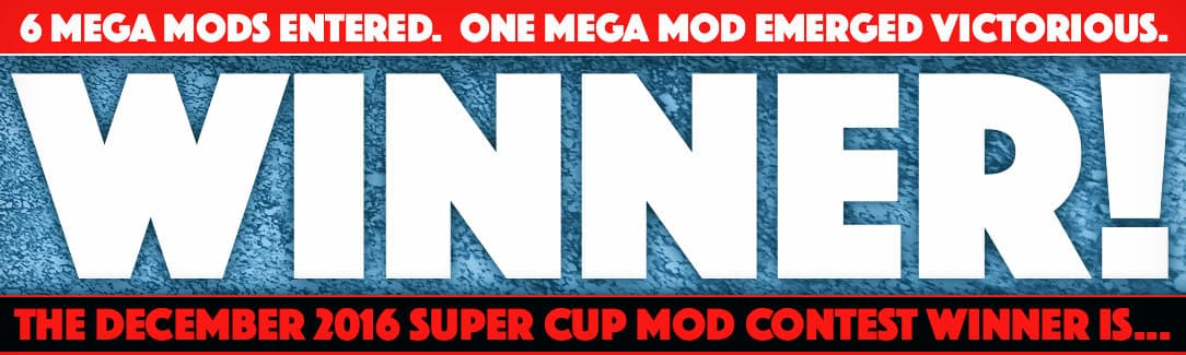 December 2016 Mega Mod Winner
