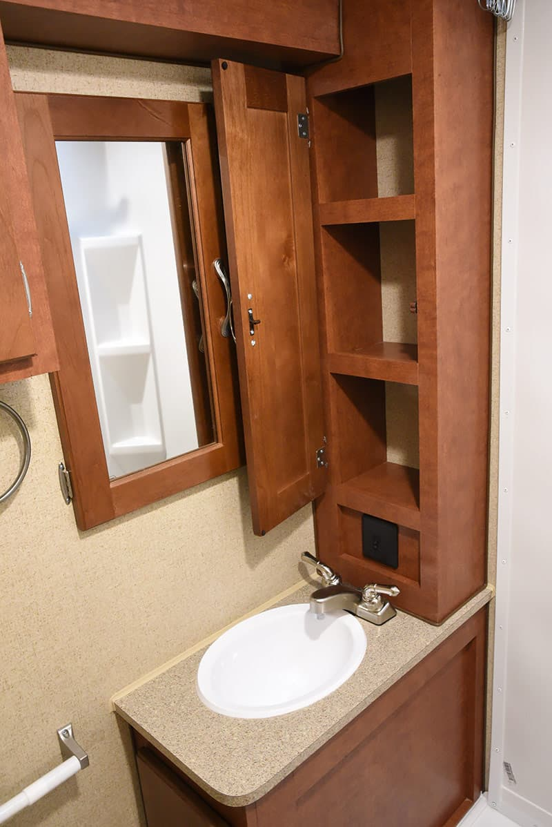 Cabinet Behind Toilet