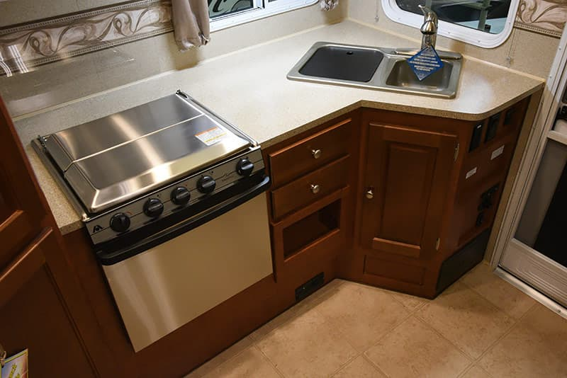 Arctic Fox 992 stainless steel stove top and oven
