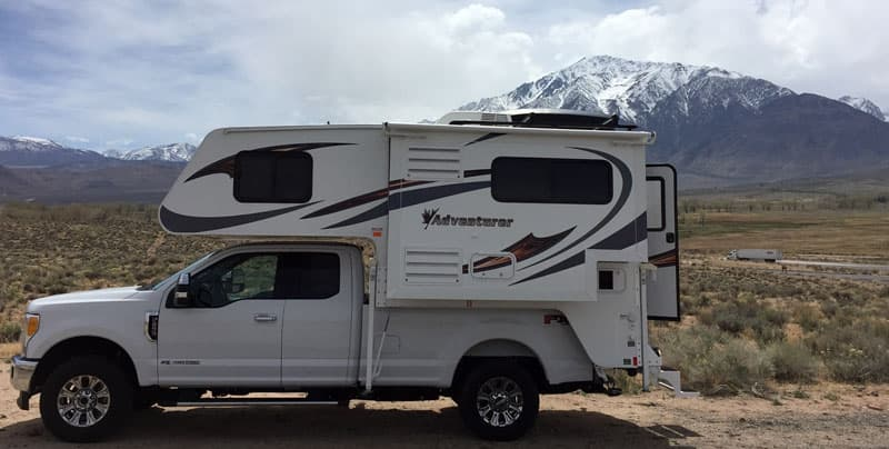 2017 Ford F250 and Adventurer Camper