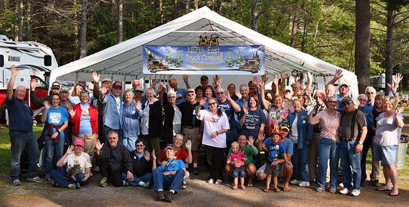 2017 North East Truck Campering Jamboree Group Shot